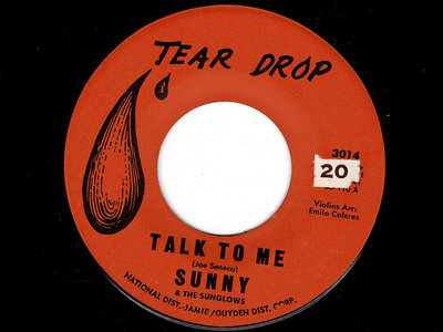 TALK TO ME  - SUNNY & THE SUNGLOWS - NM main photo