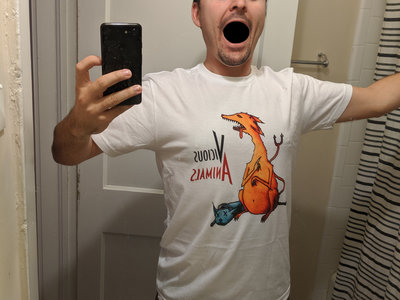 Vicious Animals White T-shirt main photo