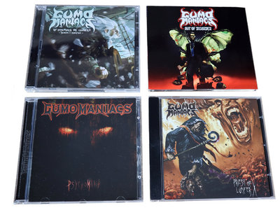 GumoManiacs CD Quartett - Teutonic Thrash Metal main photo