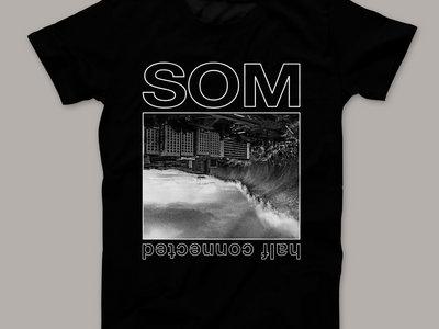 """Half Connected"" T-Shirt – BLACK main photo"