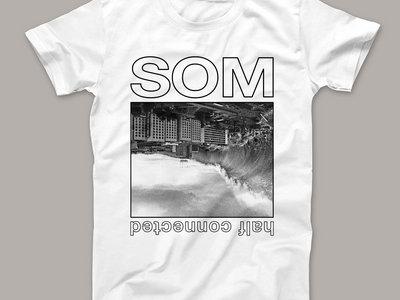 "SOM - ""The Wave"" T-Shirt - WHITE main photo"