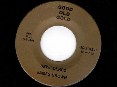 BEWILDERED - JAMES BROWN main photo