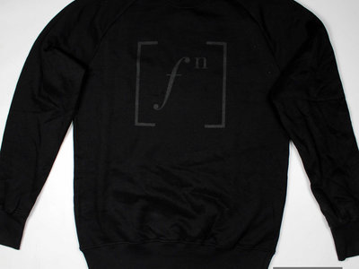 Footnotes Logo Black on Black Sweater main photo