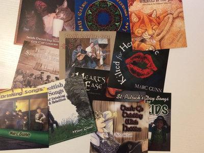 11 Album Sticker Collection (+ Digital Downloads) main photo