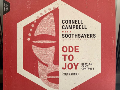 """CORNELL CAMPBELL MEETS SOOTHSAYERS 12"""" - ODE TO JOY (BABYLON CAN'T CONTROL I) - VERSIONS (OJAH/RUV BYTES) - ALDBS12005 main photo"""