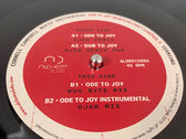 """CORNELL CAMPBELL MEETS SOOTHSAYERS 12"""" - ODE TO JOY (BABYLON CAN'T CONTROL I) - VERSIONS (OJAH/RUV BYTES) - ALDBS12005 photo"""
