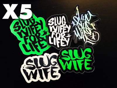 SW2YR Stickers 5-Pack Bundle main photo