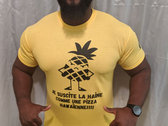 "T-shirt ""Pizza Hawaienne"" Hautstyle photo"