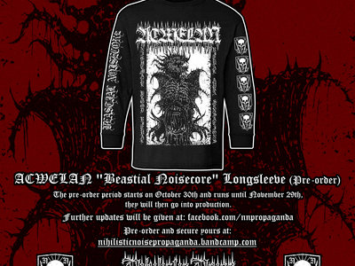 Acwelan Beastial Noisecore LS Shirt main photo
