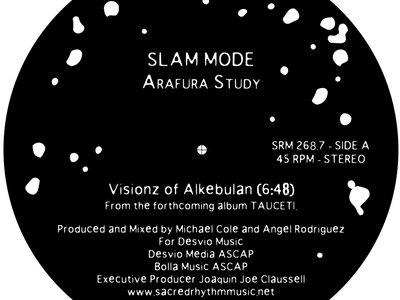 "Sacred Rhythm Music Presents: Arafura Study by SLAMMODE: 7"" Vinyl New Release main photo"