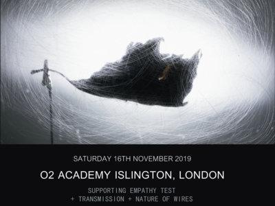 Ticket   TIRS   O2 Islington Academy, London   16th November 2019 main photo