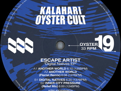 Escape Artist - Digital Natives EP (OYSTER19) main photo