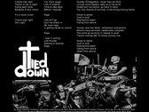 "Warwound / Tied Down Split 7"" EP CC7-002 photo"