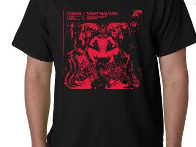 Gosub - Night Mal'ach - (Black) Heavy Cotten Limited T-Shirt main photo