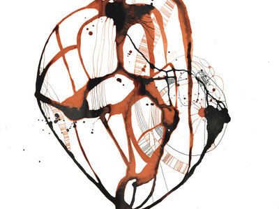"""Limited Edition Signed Art Print: """"Heart.Map"""" from Healing by Anna Salzmann main photo"""