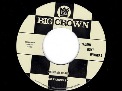Cross My Heart b​/​w Groovin' - The Channels 4 / Carla & The Carlettes main photo
