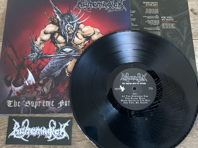 The Supreme Force Of Eternity - Black vinyl with logo sticker main photo
