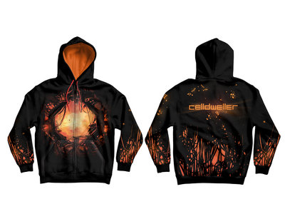 Celldweller - Omega Centauri All-Over Print Zip-Up Hoodie main photo