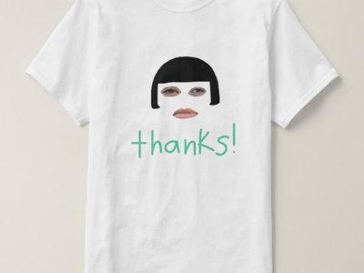 thanks! t-shirt main photo