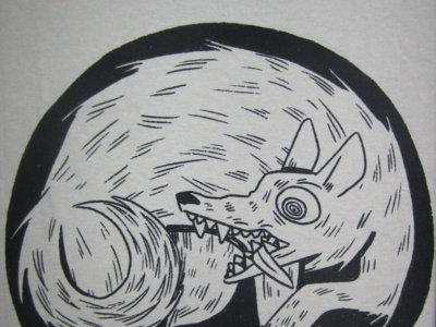 'Spinner' dog T-shirt main photo