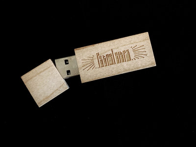 ChiPsTaPe vol.1. - wooden usb flash drive - limited ed. 30 copies - free shipping worldwide main photo