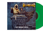 """Hellbastard - They Brought Death 10"""" LP (Coloured) photo"""