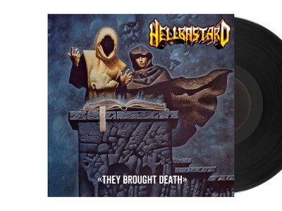 """Hellbastard - They Brought Death 10"""" LP (Black Special Edition) main photo"""