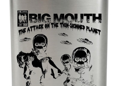 Hip flask The Attack On The Thin-Skinned Planet main photo