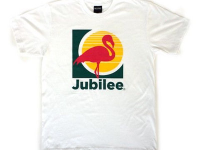 Jubilee White Flamingo Tee main photo