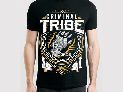 Criminal Tribe T-Shirt (ver.02 black) main photo