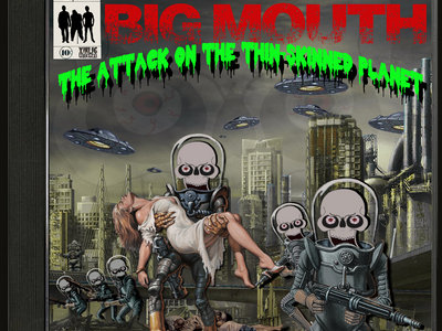 CD The Attack On The Thin-Skinned Planet main photo