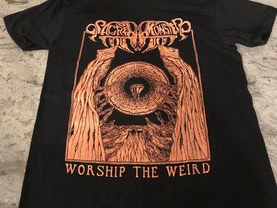Old Ceremony T-Shirt (Light Orange on Black) main photo