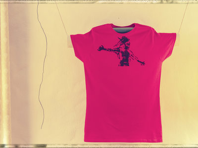 Bubble Boy Shirt red, size S, ladies main photo
