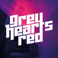 Grey Hearts Red image