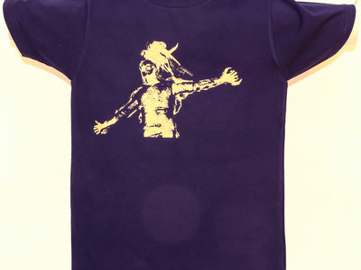 the BUBBLE BOY shirt , navy blue, size M, unisex/guyshirt main photo
