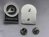 A Projection Metal Pin Logo photo