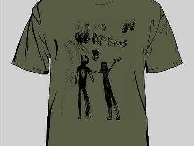 """AARON & LEO DILLOWAY """"Bad Dreams"""" T-shirt main photo"""
