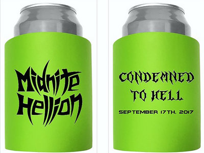 """Condemned To Hell"" Beer Koozie main photo"