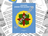 """""""Under the Sacred Tree"""" SONGBOOK photo"""