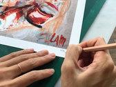 'My Own Skin' by Dora Lam, 49x34cm Fine Art Giclée print photo