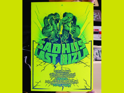 Last Rizla 2015 Tour Poster (w/ Sadhus) main photo