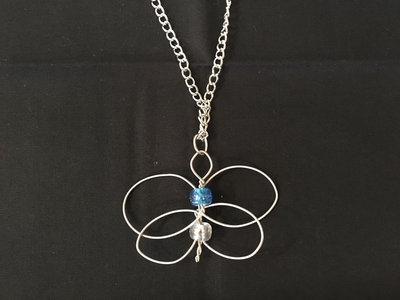 """Blue Butterfly"" Celtic Heartstring main photo"