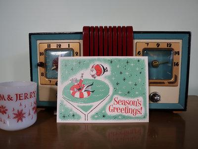 Retro Christmas Card! Plus Digital Download! main photo