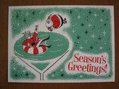 5 Retro Christmas Cards! Plus digital downloads! photo