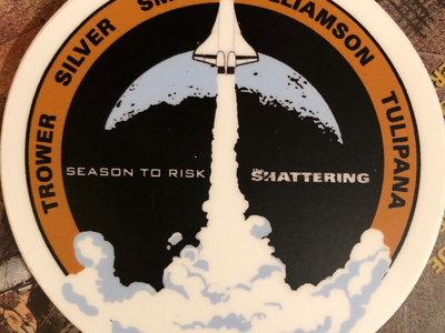 2019 Shattering Mission vinyl sticker main photo