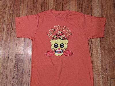 """Mentalease """"Brain Vapor"""" T-shirt - Orange main photo"""