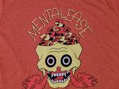 "Mentalease ""Brain Vapor"" T-shirt - Orange photo"
