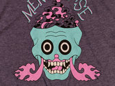 "Mentalease ""Brain Vapor"" T-shirt - Purple photo"