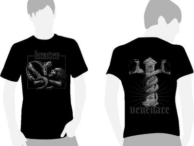 "T-Shirt black ""Snake - Venenare"" main photo"