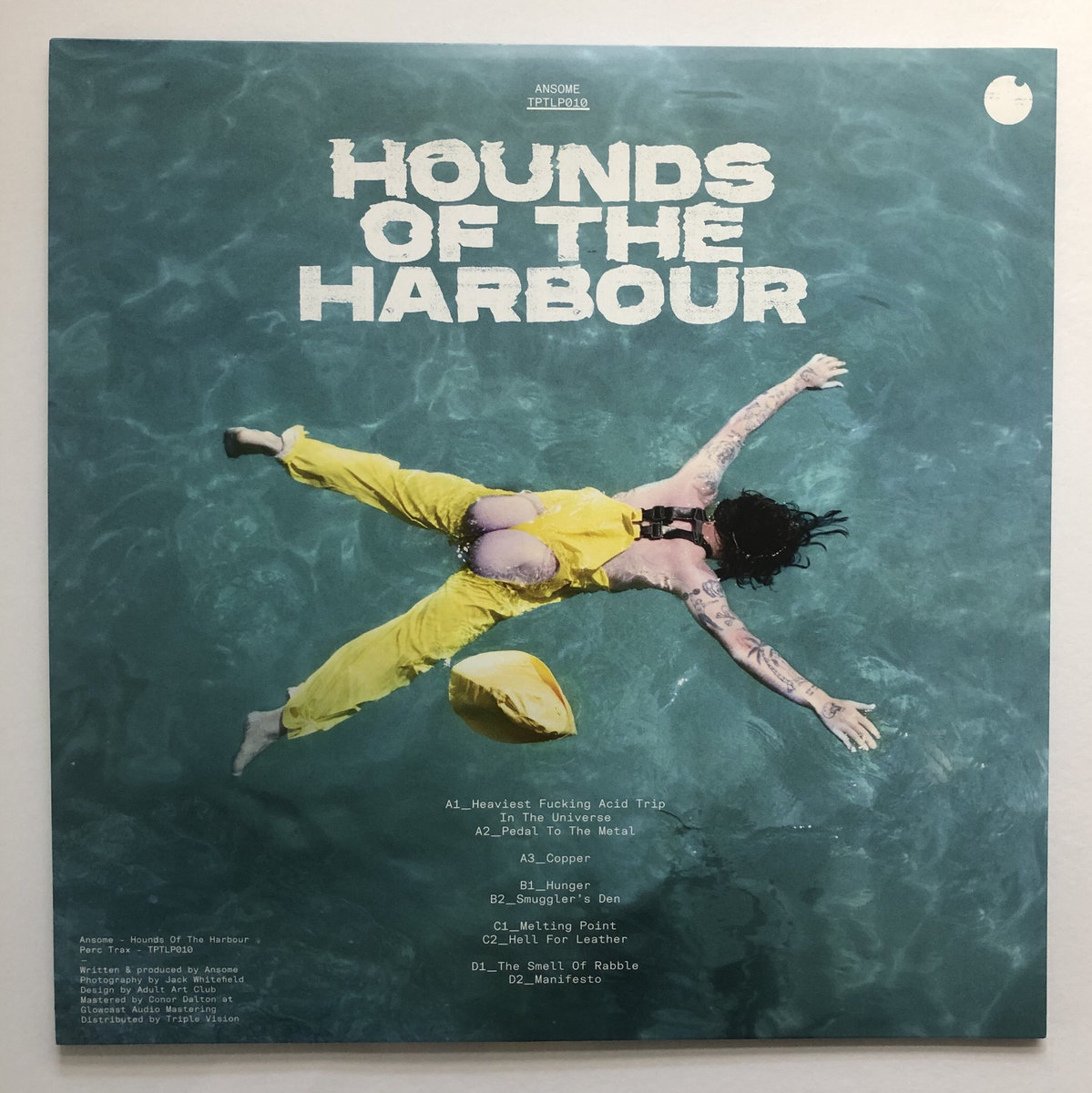 Adult Cd Universe hounds of the harbour | perc trax